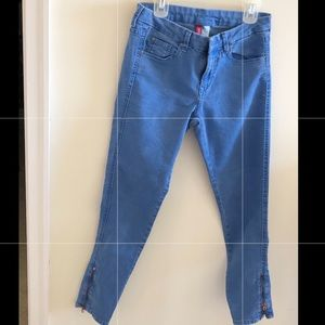 Divided by H&M Pants - DIVIDED BY H&M skinny legs with zip at hems.Blue.6